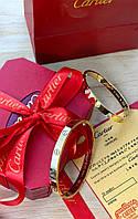 Элегантный браслет Cartier Love золото  (реплика)