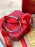 Элегантный браслет Cartier серебро (реплика)