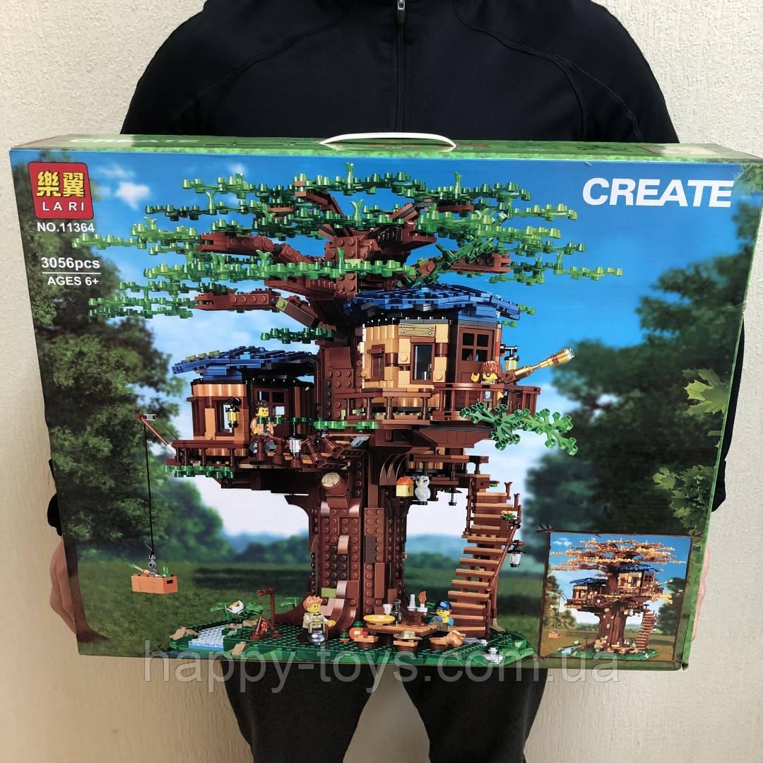 Конструктор Creator Дом на дереве Lari 11364 3056 деталей