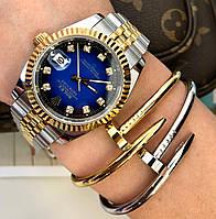 Элегантный браслет Cartier золото (реплика)