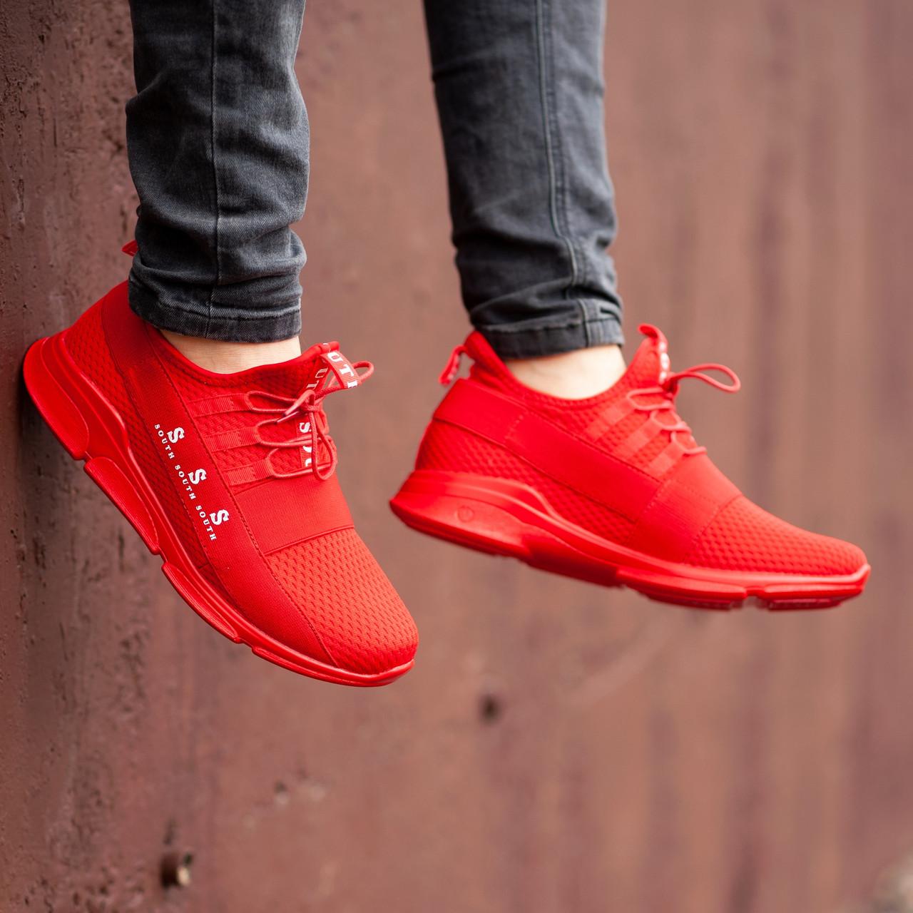 Чоловічі червоні Кросівки South Fresh