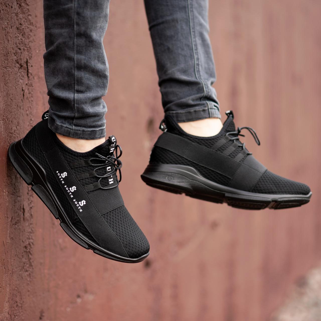 Чоловічі чорні Кросівки South Fresh