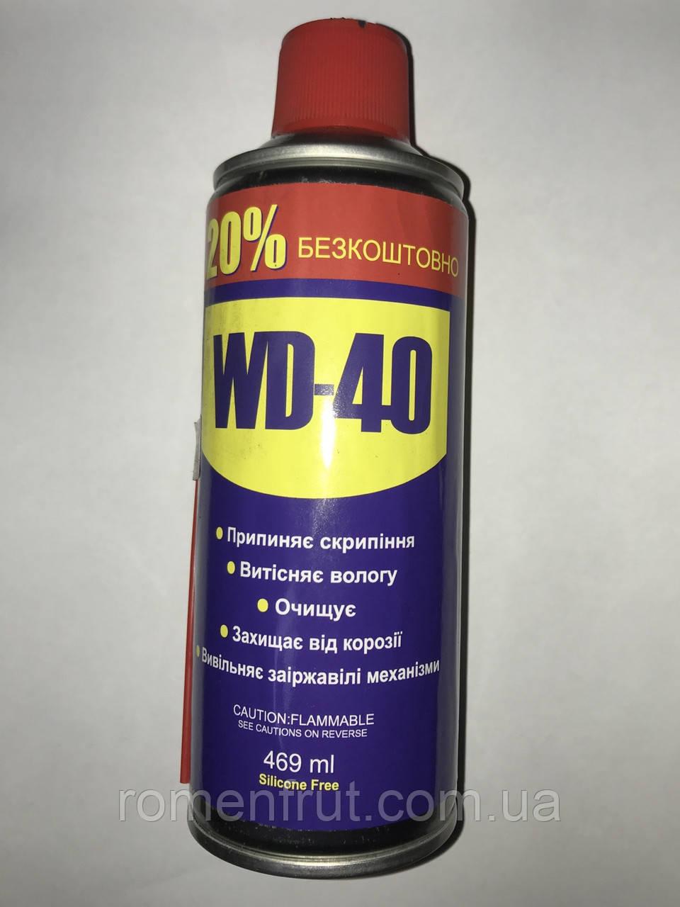 Жидкий ключ WD-40 (469 мл)
