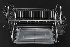 Сушка для посуды A-PLUS 45 х 24 х 39 см (1198)