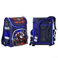 Рюкзак школьный каркасный N 00174 30 1 отделение 3 кармана спинка ортопедическая 66030, КОД: 1339267