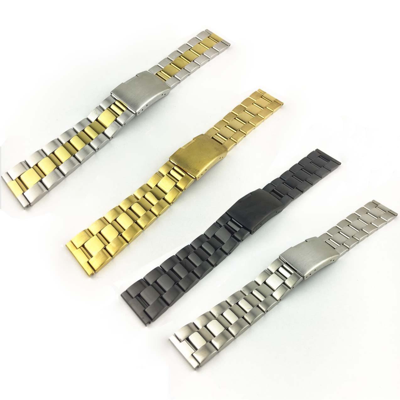Блочний металевий браслет для смарт годин Samsung Galaxy Watch Active 2 44mm 20 мм