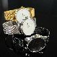 Часы ZIZ Минимализм черный (ремешок из нержавеющей стали черный) + дополнительный ремешок SHOPIK, фото 5