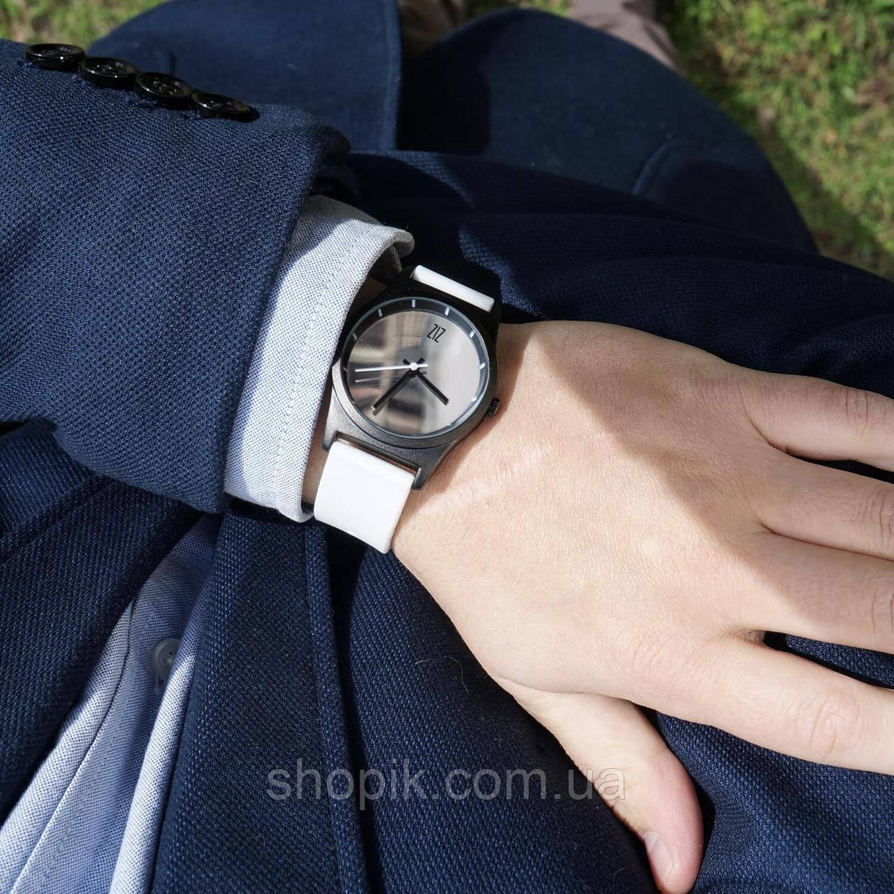 Часы ZIZ Mirror на силиконовом ремешке + доп. ремешок + подарочная коробка (4100345) SHOPIK