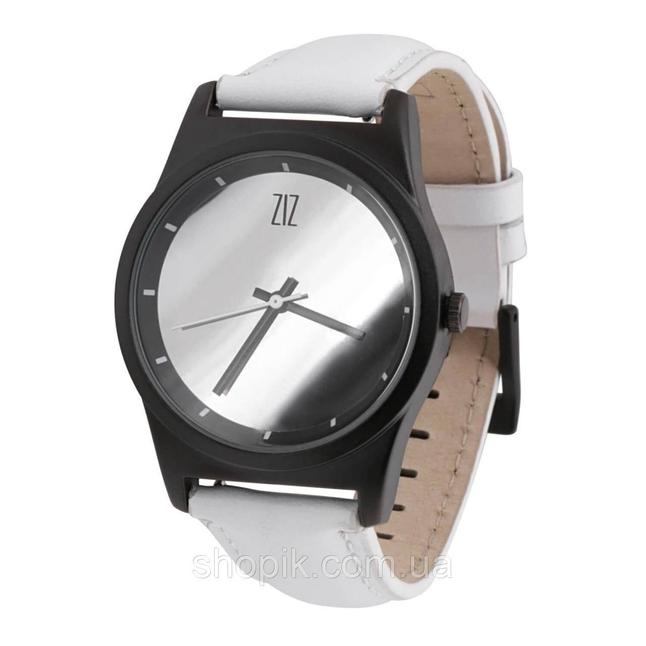 Часы ZIZ Mirror на кожаном ремешке + доп. ремешок + подарочная коробка (4100342) SHOPIK