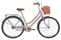 Велосипед городской 28 дюймов 19.5 рама Dorozhnik TOPAZ 2021