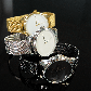 Годинник ZIZ Мінімалізм (ремінець з нержавіючої сталі золото) + додатковий ремінець SHOPIK, фото 5