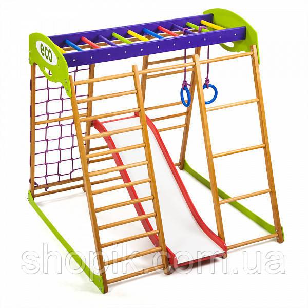 Дитячий спортивний комплекс для квартири Карамелька Plus 1 SHOPIK
