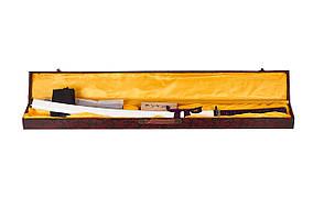 САМУРАЙСКИЙ МЕЧ 13963 (KATANA) Отличный в подарок ПОДАРОЧНАЯ ДЕРЕВЯННАЯ КОРОБКА