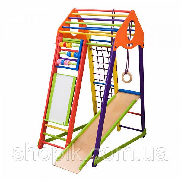 Дитячий спортивний комплекс BambinoWood Color Plus SportBaby SHOPIK