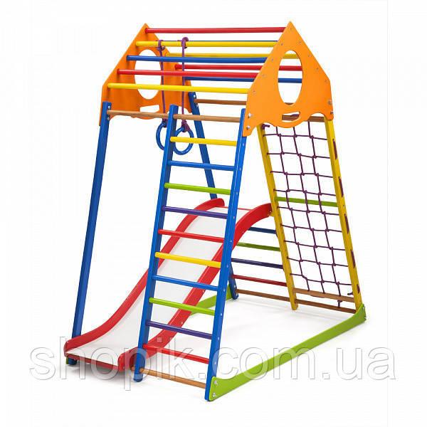 Дитячий спортивний комплекс KindWood Color Plus 1 SportBaby SHOPIK