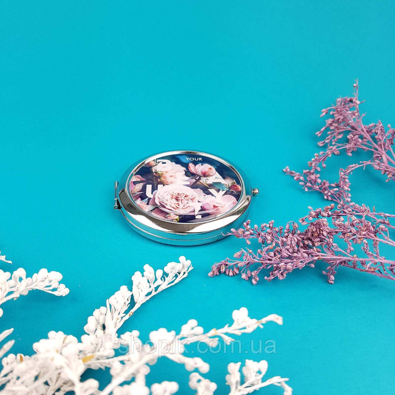 Кишеньковий дзеркало ZIZ Троянди SHOPIK