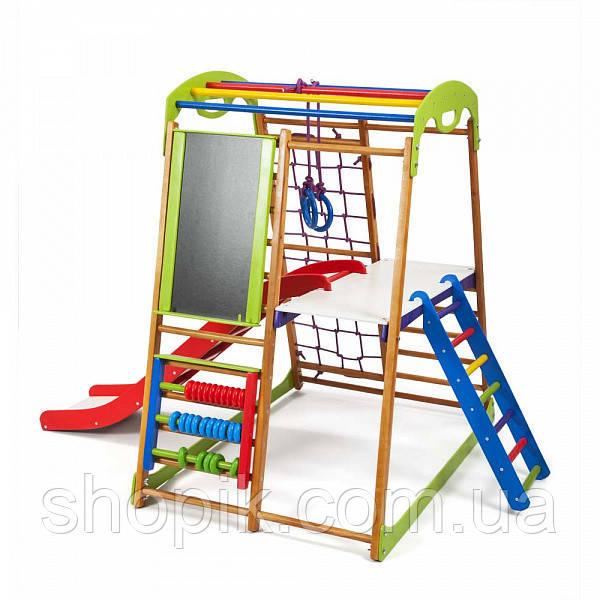 Дитячий спортивний комплекс для будинку BabyWood Plus 3 SportBaby SHOPIK