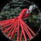 Гамак двухместный c рейками Цветной  XXL SHOPIK, фото 5
