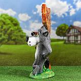 Садовый декор «Волк с Собакой» (46 см, гипс), фото 3