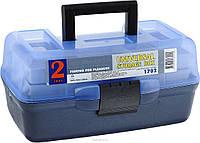 Ящик для рыбалки Aquatech 1702, 30,5x18,5x15 см прозрачная крышка