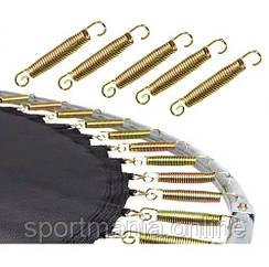 Пружини для батутів 3 мм х 175 мм Сріблястий/золотий