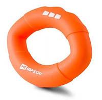 Эспандер силиконовый овальный 22,6 кг HS-S022OG Оранжевый