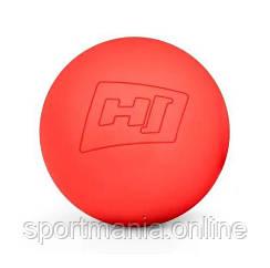 Силиконовый массажный мяч 63 мм HS-S063MB Красный