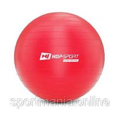 HS-R065YB Фитбол 65 см Красный + насос
