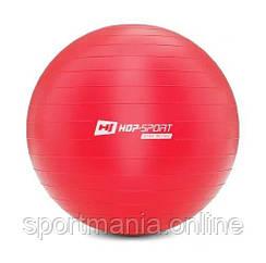 HS-R075YB Фитбол 75 см Красный + насос