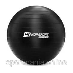 HS-R075YB Фитбол 75 см Черный + насос