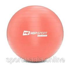 HS-R075YB Фитбол 75 см Розовый + насос