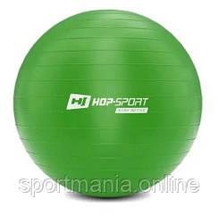 HS-R085YB Фитбол 85 см Зеленый + насос