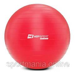 HS-R085YB Фитбол 85 см Красный + насос