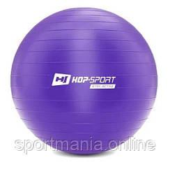 HS-R085YB Фитбол 85 см Фиолетовый + насос