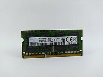 Оперативная память для ноутбука SODIMM Samsung DDR3L 8Gb 1600MHz PC3L-12800S (M471B1G73EB0-YK0) Б/У