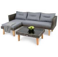 Садовая мебель Imola Темно-серый