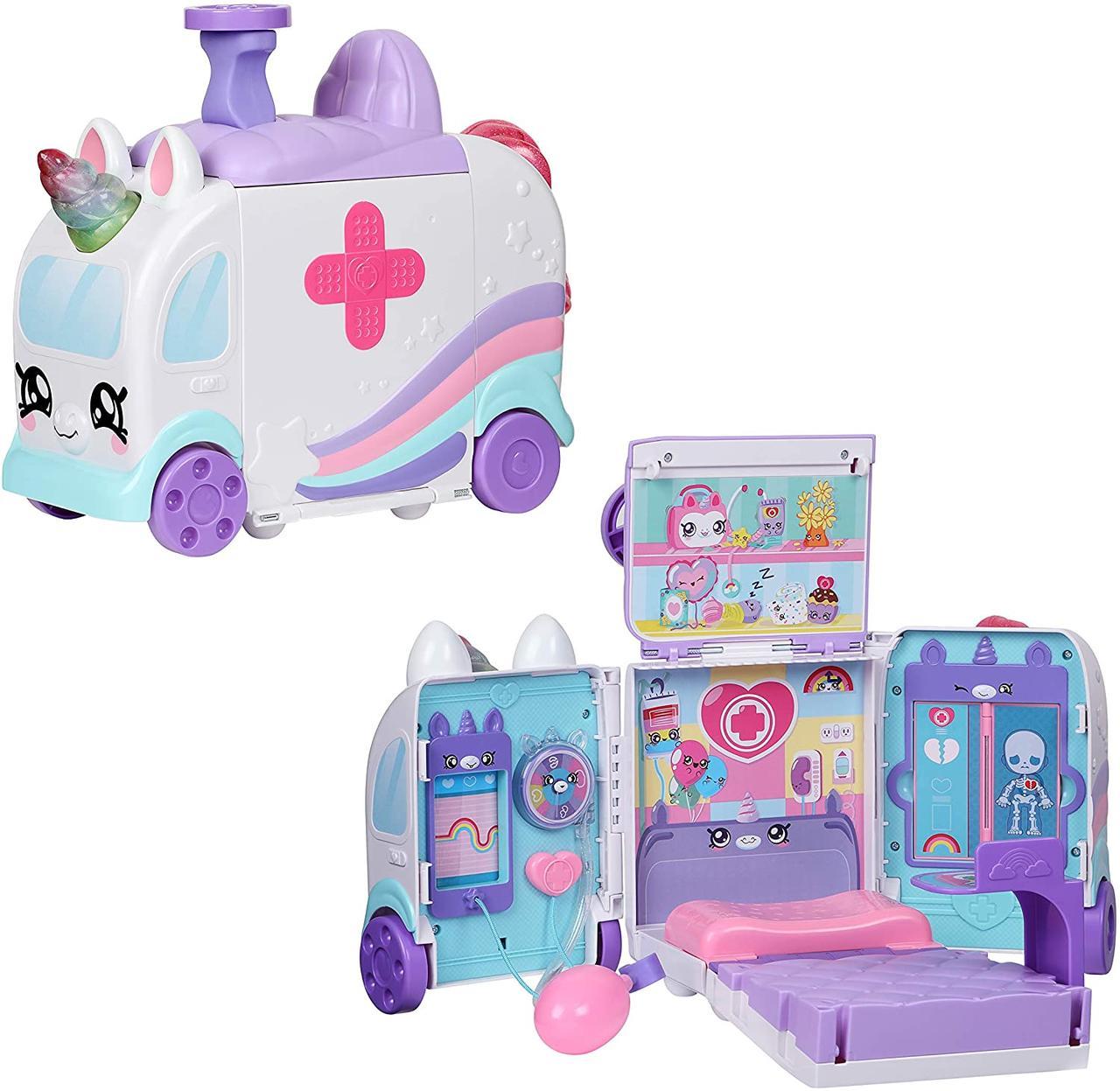 Ігровий набір Кінді Кідс Швидка допомога, лікарня Kindi Kids Hospital Corner - Unicorn Ambulance 50040