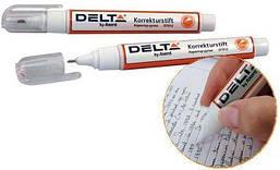 Корректор-ручка 8 мл D7012 Delta