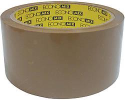 Скотч упаковочный коричневый 48 мм х 50 м E40802