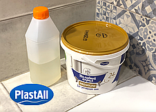 Наливний Акрил для реставрації сталевої ванни Plastall Premium 1.7 м (3,3 кг) Оригінал, фото 2