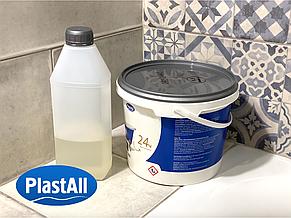 Жидкий акрил для реставрации ванны Пластол Титан (Plastall Titan) 1.5м 7trav, фото 2
