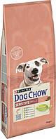 Dog Chow Sensetive для доросла собак лосось 14кг