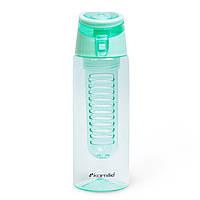 Спортивная бутылка для воды Kamille Бирюзовый 660ml из пластика KM-2303