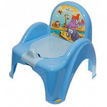 Детский горшок Tega Safari SF-010 blue
