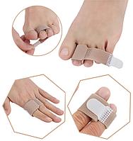Тканинний бандажный роздільник для пальців ніг (рук)