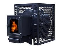 Печь банная ComfortProm ЧУГУН СТАНДАРТ, для парной до 20 кубов, вес 63,5 кг, длина дров до 40 см, на 130 кг