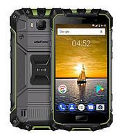 Противоударный Смартфон Ulefone Armor 2S (black-green) 2/16Гб Защита IP68- ОРИГИНАЛ - гарантия!