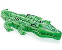 Надувная игрушка-наездник 203х114см крокодил от 3 лет SKL82-250591