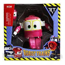 """Игрушечный робот-трансформер """"Robot Trains"""" TM061-12B1 (Розовый)"""