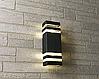 Фасадний вуличний світильник DH0807 2хЕ27 чорний IP54 Код.59793, фото 4